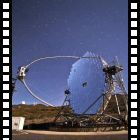 VIDEO: Time lapse dei telescopi MAGIC in azione