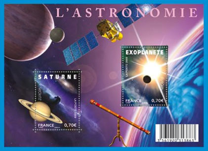 france-astronomy-stamp