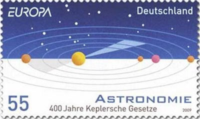 germany-astronomy-stamp